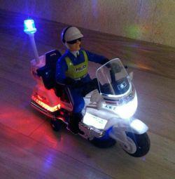 Αστυνομική μοτοσικλέτα.