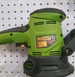 Eccentric sander ProCraft 850 watt