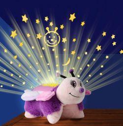 Proiector pentru lumina noptii pentru copii 3 in 1 Dream Lites Beetle