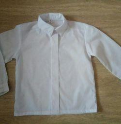 Сорочка біла 110-116