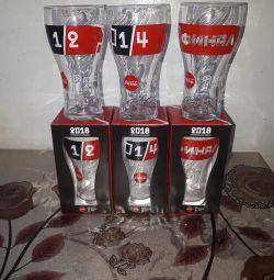 Pahare de Coca-Cola