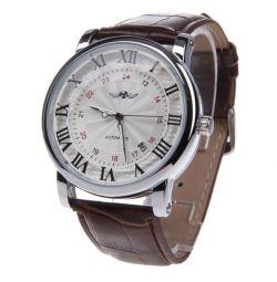 Promotion: mechanical watch Winner + Baylini purse