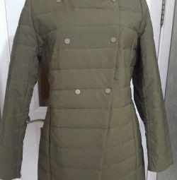 μονωμένο παλτό μέγεθος 48