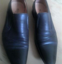 Shoes, 39r., Leather