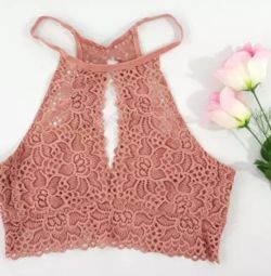 New lace underwear top