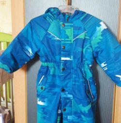 Jumpsuit membrane spring
