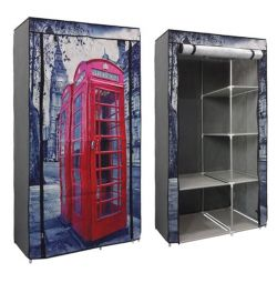 WARDROBE WINDOWS 105X45X158 cm HM246.03 LONDON