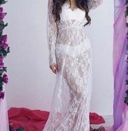Новый шикарный пеньюар - платье - халатик