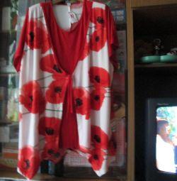 women's tunic 66 size.new.