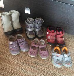 Παπούτσια 23r. Μπότες, ugi Thomas, Kapika, μεμβράνη.