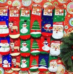 Новогодние носки. Носки на Новый год