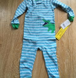 Carters pajamas jumpsuit new