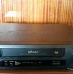 Video tape recorder.