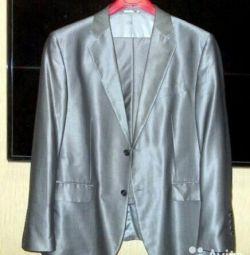 Мужской костюм р.56, на рост 170