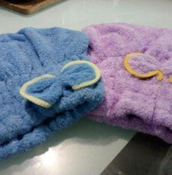 Πετσέτα στεγνωτήρα μαλλιών