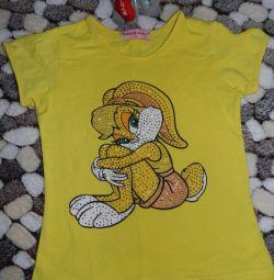 T-shirt για το κορίτσι, μέγεθος 110
