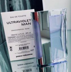 Test Cihazı Paco Rabanne Ultraviyole Adam Ultraviyole