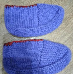 Knitted sneakers, new