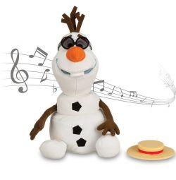 Поющий снеговик Олаф Disney
