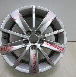 Cast disc 6JR15H2 Volkswagen Polo 5 oem 3c0601025 (scuffed) (ckl-3)