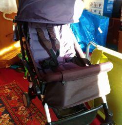 Stroller baby throne