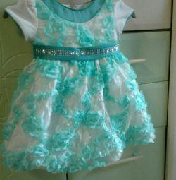 Платье нарядное на принцессу 1-2года