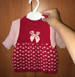 Dress with a bolero for the little ones