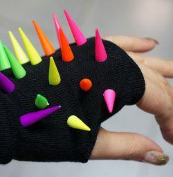 Mănuși fără degete cu vârfuri