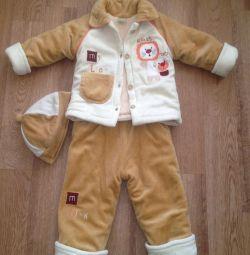 Μεταχειρισμένο κοστούμι 74-80 ως καινούργιο