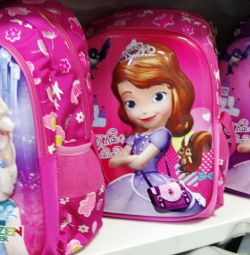School backpack for a girl