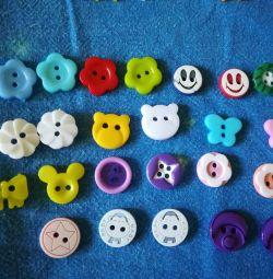 Scrapbooking buttons!