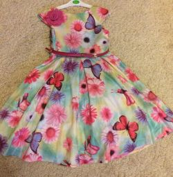 I'm selling a festive dress for a girl!