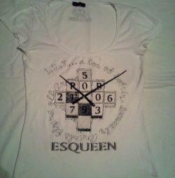 Белая футболка 44-46