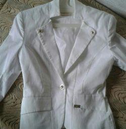 Білий піджак, новий