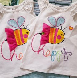 T-shirt for 3-4 years old
