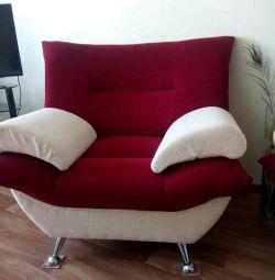 A new armchair.