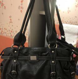 Δερμάτινη τσάντα ιταλικής από την Galaday 9 τσέπες