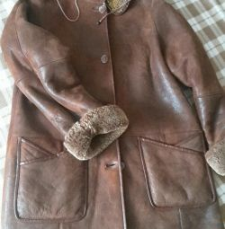 Sheepskin coat female 46-48