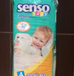 Подгузники Senso (3;4разм)