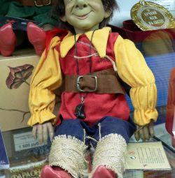 Doll - Elf Dagovill - protectorul copiilor de 38cm.