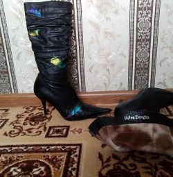 Boots. P38 din piele