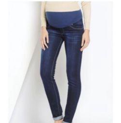 Новые джинсы для беременных euromama