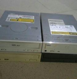 DVD привод 4 штуки