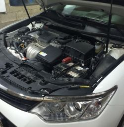 Gas installation on Camry GBO 4th generation