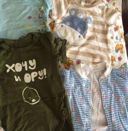 Tricou pentru un băiat până la un an