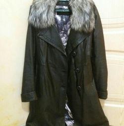 Кожаное пальто CAPITOL