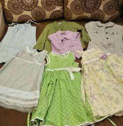 Φορέματα σε συσκευασία