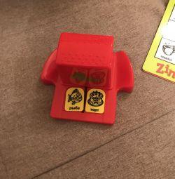 Board children's game Zingo