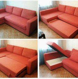 Γωνιακός καναπές Monstad