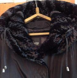 Нове пальто з зимової подстeжкой